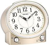 セイコー クロック 目覚まし時計 アナログ 切替式 アラーム 薄金色 パール KR892G SEIKO