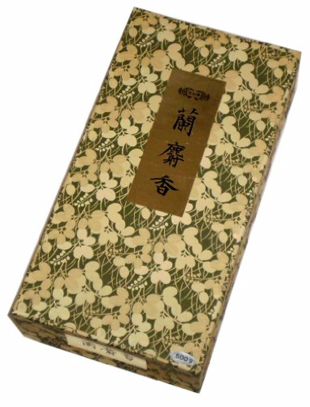 神社頭蓋骨気体の玉初堂のお香 蘭麝香 500g #621