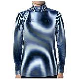 M576 マンシングウェア(Munsingwear) 長袖タートルネックシャツ JWMK123 M576 ブルー LL