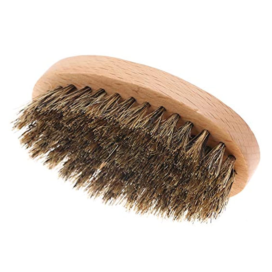 悪性切手練習したメンズ フェイスクリーニングシェービング髭ブラシ