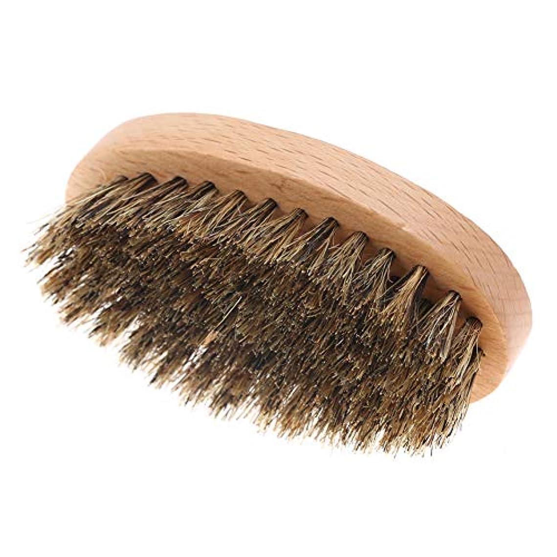掃除エントリどちらかメンズ フェイスクリーニングシェービング髭ブラシ