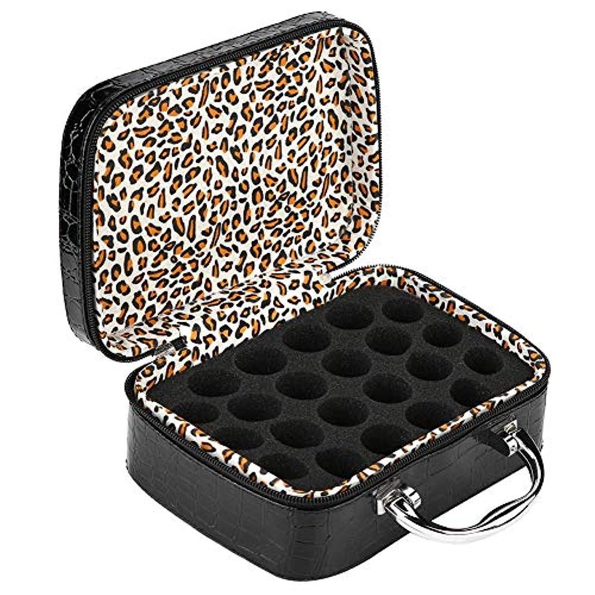 つぼみ洗練方法Salinr アロマポーチ エッセンシャルオイル ケース 携帯用 エッセンシャルオイル収納ボックス アロマケース ボックス 香水収納ケース 15ml アロマオイル収納ボックス 22本用