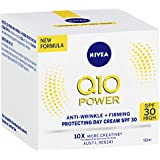 NIVEA Q10 Power Anti-Wrinkle Firming Day Cream with Creatine & SPF30 Sun Protection 50ml