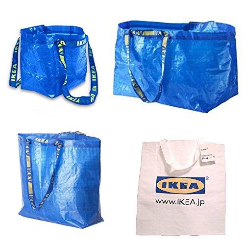 IKEA(イケア) バッグ 4点セット BRATTBY / FRAKTA /...