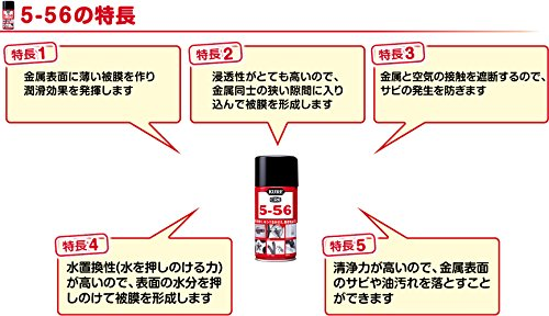 KURE 5-56(クレ556) 無香性 70ml