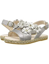 [UGG(アグ)] キッズサンダル?靴 Allairey Shimmer (Toddler/Little Kid) Silver 6 Toddler (13.5cm) M