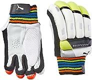Puma, Cricket, Evospeed 6 Batting Gloves 2016, Small Boys, Lava Blast/Safety Yellow, Right Hand
