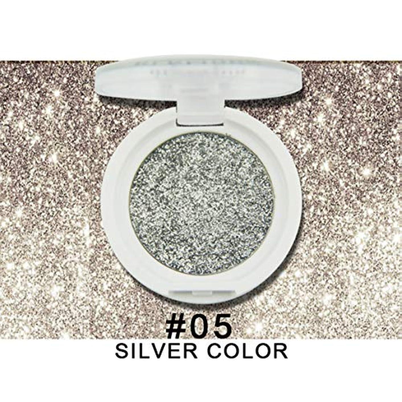 組み込む案件虹Intercoreyファッション単色アイシャドウパレットシマーメイクアップツールシマーアイシャドウ化粧品キットフルシマーアイシャドウE8286