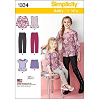 Simplicity Child Girl Sportswear-3-4-5-6 (並行輸入品)