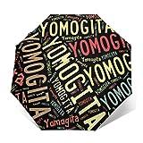 折りたたみ傘 自動開閉 超軽量 Yomogita 蓬田村 ミニ傘 日傘 耐強風 携帯便利 頑丈 超撥水 梅雨対策 晴雨兼用 One Size