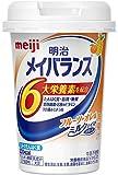 【まとめ買い】明治 メイバランス Miniカップ フルーツ・オレ味 125ml×12本