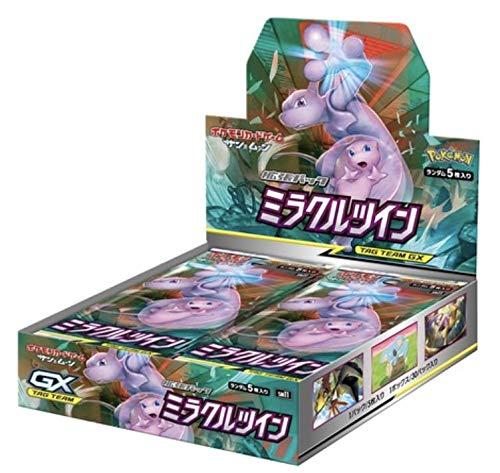 ポケモンカードゲーム サン&ムーン 拡張パック「 ミラクルツイン」 BOX