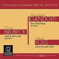 Brubeck-Gandolfi-Foss by Concord Chamber Music Societ (2011-06-14)