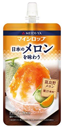 明治屋 マイシロップ 日本のメロンを味わう 150g×4個
