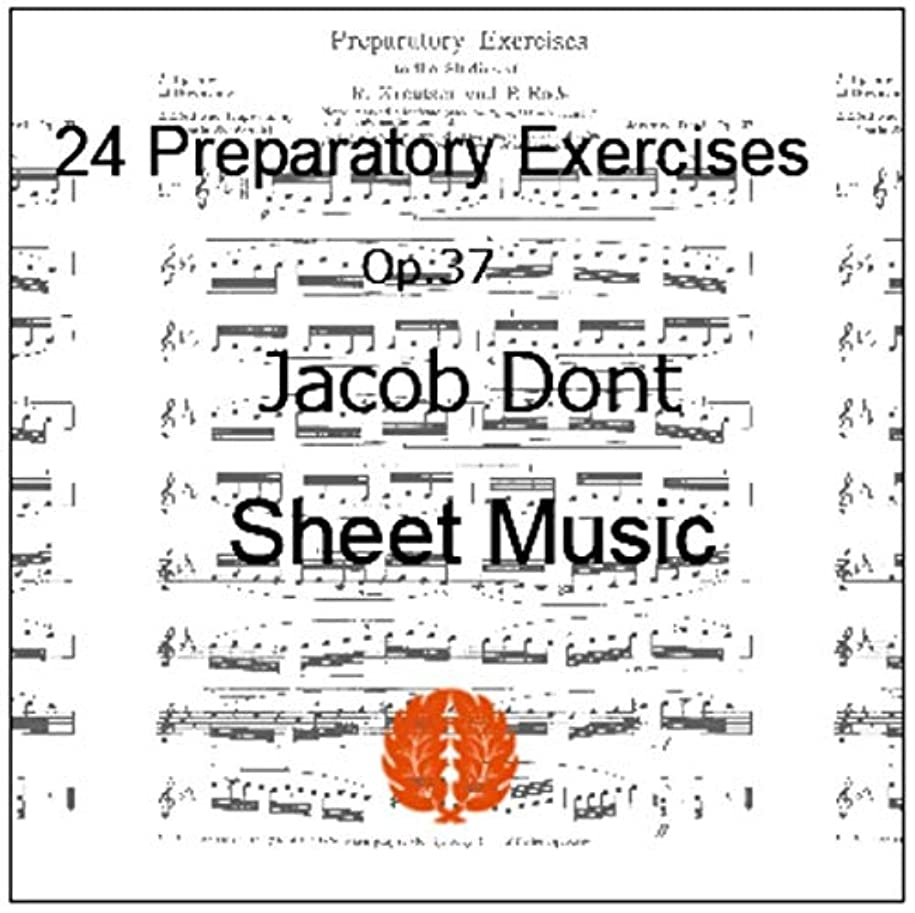 楽譜 pdf ヴァイオリン ドント 24の準備的練習曲 Op.37