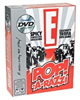 E CELEBRITY Pop-A-Razzi TRIVIA DVD GAME [並行輸入品]