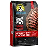 Visionary Pet - Keto Dog Food | Low Carb Kibble | High Protein | Natural Beef Flavor | Grain Free Dry Dog Food with Natural F