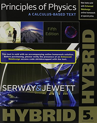 Download Principles of Physics: A Calculus-Based Text, Hybrid Edition 1305586875