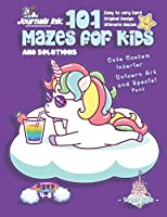 101 Mazes For Kids: SUPER KIDZ Book. Children - Ages 4-8 (US Edition). Cartoon Cloud Baby Unicorn, Purple w custom art interior. 101 Puzzles w solutions - Easy to Very Hard learning levels -Unique challenges and ultimate mazes book for fun activity time! (Superkidz - Unicorn 101 Mazes for Kids)