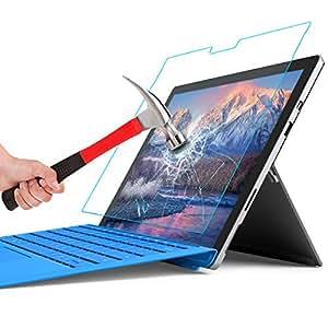 MoKo MicroSoft Surface Pro 4 ガラス フィルム 液晶保護フィルム