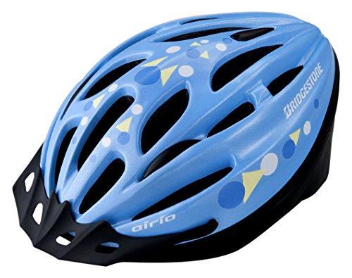 BRIDGESTONE(ブリヂストン) エアリオ ヘルメット ライトブルー CHA5660 L(56~60cm) B371301LB