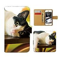 スマホケース 手帳型 SM-G950 GALAXY S8 ねこ 手帳 ケース カバー 猫 ねこ ネコ 写真 ペット 子猫 D0267020094304