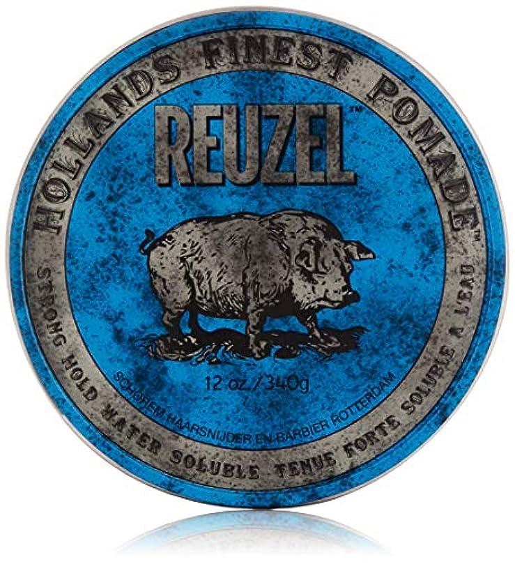 複雑ジョセフバンクス虚栄心Reuzel Blue Pomade (Strong Hold, Water Soluble) 340g/12oz並行輸入品