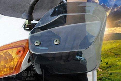 バイク スクーター 汎用 ナックルガード TYPE2 スモー...