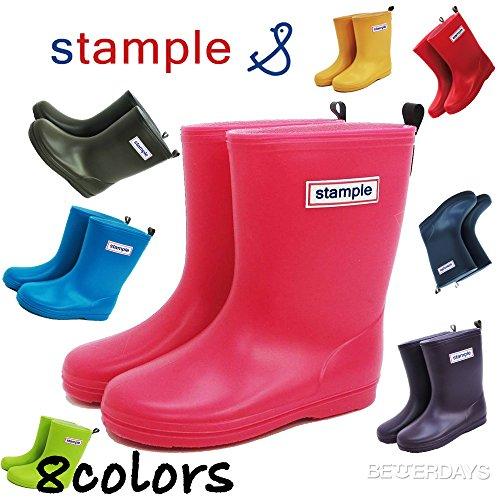 stample(スタンプル)レインブーツ|75005 (16cm, ピンク)