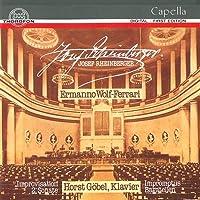 Sonata per piano n.2 (q) Improvvisazioni su temi di Mozart Bagatella (1936) n.1 > n.6 per piano Improvviso op 13 (1904) n.1 > n.3