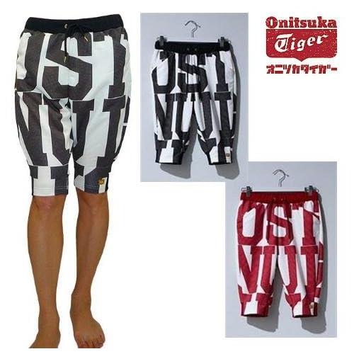 (オニツカタイガー)Onitsuka Tiger WS TRACK PANTS OKP659 (M, Ivory/Black)