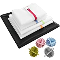 Rantom 洗濯ネット ランドリーネット 絡まり 型崩れ防止 旅行収納 洗濯機など用 カラー