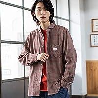 コーエン(メンズ)(coen) SMITH別注ガーデニングシャツ【MD.BROWN/MEDIUM】