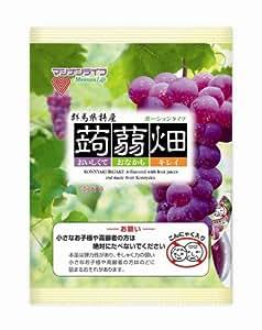 マンナンライフ 蒟蒻畑 ぶどう味 (25g×12個)×12袋