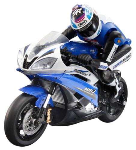 電動RCバイク ストリート・レーサー ブルー