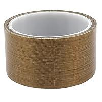 uxcell 耐熱性カプトンテープ ガラス繊維材質 ヒートプレス 電気絶縁 広範使用 1個入り