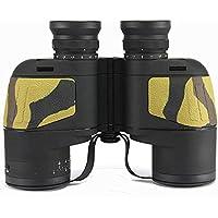10 x 50 HD望遠鏡bak4 FMC防水ミリタリーBinocular with Rangefinder座標の狩猟
