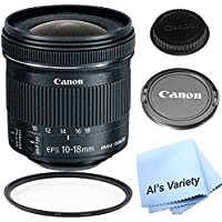 Canon EF - S 10 – 18 mm F / 4.5 – 5.6 is STMレンズキットfor for Canon DSLRカメラ