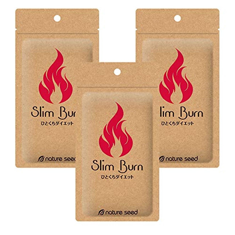 階下発疹ロードハウス[燃焼サポートサプリ]ダイエット 美ボディメイク 厳選成分配合 サプリメント スリムバーン 3袋(約90日分)