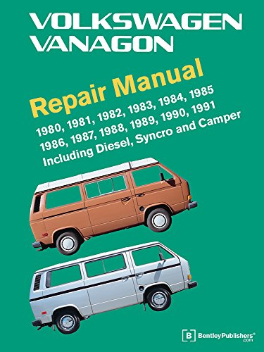 Download Volkswagen Vanagon Repair Manual: 1980, 1981, 1982, 1983, 1984, 1985, 1986, 1987, 1988, 1989, 1990, 1991 0837616654