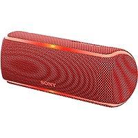 ソニー SONY ワイヤレスポータブルスピーカー SRS-XB21 R : 防水/防塵/防錆/Bluetooth/専用スマホアプリ対応 ライティング機能 2018年 レッド