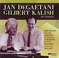 Jan DeGaetani and Gilbert Kalish in Concert by Jan DeGaetani (2011-06-14)
