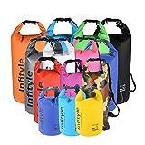 (Infityle)防水バッグ ドライバッグ ボートやカヤック ラフティング 釣り 水泳 キャンプ スノーボードなどに適用 + フリー防水ポーチ + ポケットツール