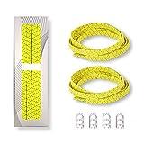 ニューバランス テニス Buddy Elastic No Tie Shoelaces for all ages Pefect for RunningウォーキングハイキングChrismasギフト見ランナー、高機能自閉症の子の速度をTheir Triat