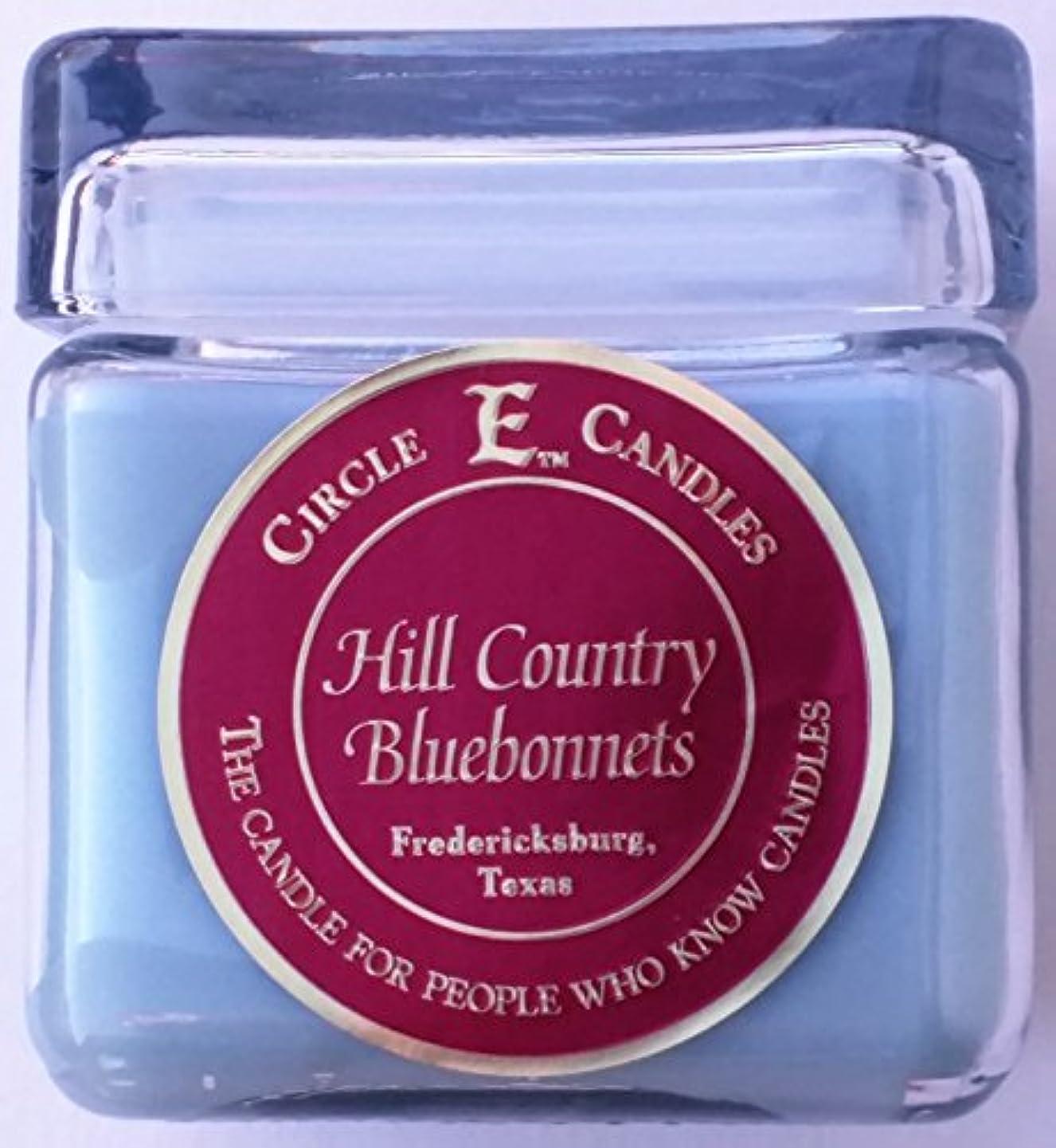 住居アレルギー性バウンス830ml Circle E Hill Country Bluebonnets Candle