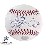 イチロー ヤンキース時代 直筆 サイン + #31 インスクリプション 入り MLB 公式 ボール イチロー公式ホログラム付き シードスターズ 証明書付き