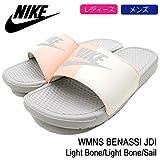 (ナイキ) NIKE サンダル ユニセックス ウィメンズ ベナッシ JDI Light Bone/Light Bone/Sail 24cm(US7)