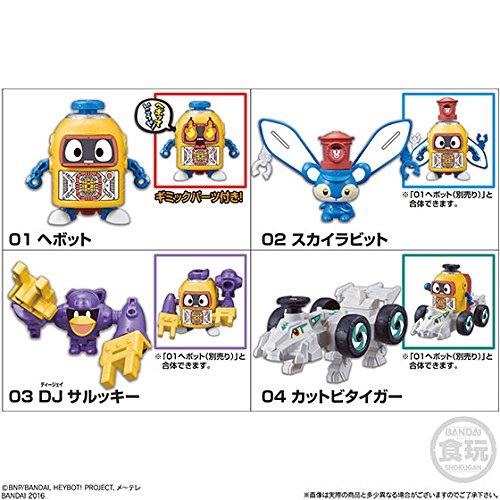 ヘボット!くみかえ合体シリーズ1 8個入りBOX(食玩・仮称)