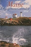 Maine Engagement 2014 Calendar