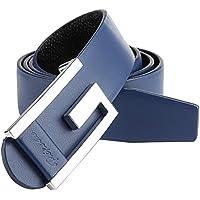 Phoenix Wonder Blue Casual Mens Artificial Leather Belts Bales Catch Fashionable Joker Belts